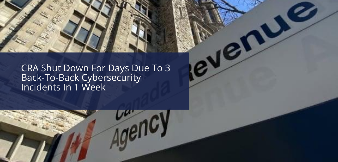 CRA Services Active Again After 3 Back-To-Back Cybersecurity Incidents In A Week