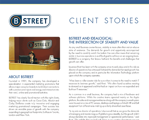 Case Study of B Street Marketing